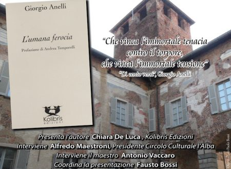 """""""L'umana ferocia"""" di Giorgio Anelli"""